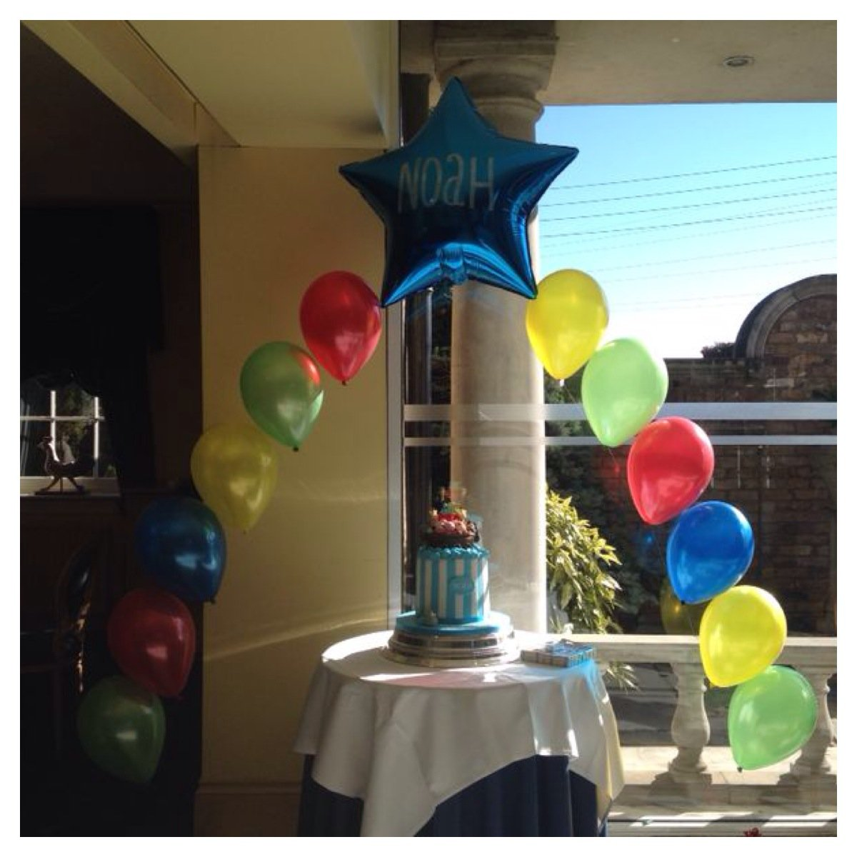 Personalised Balloon Arch