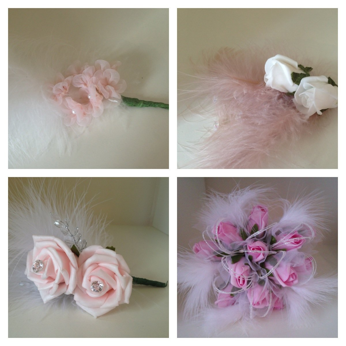 Ladies buttonhole examples