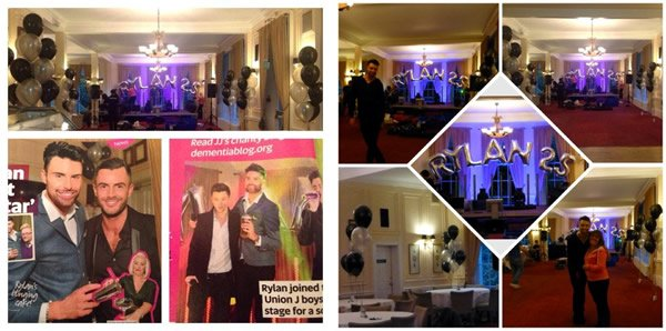 Rylan Clark 25th Birthday Party, featured in New Magazine