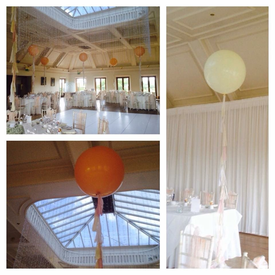 Wedding Decorations at Stock Brook Manor Golf Club