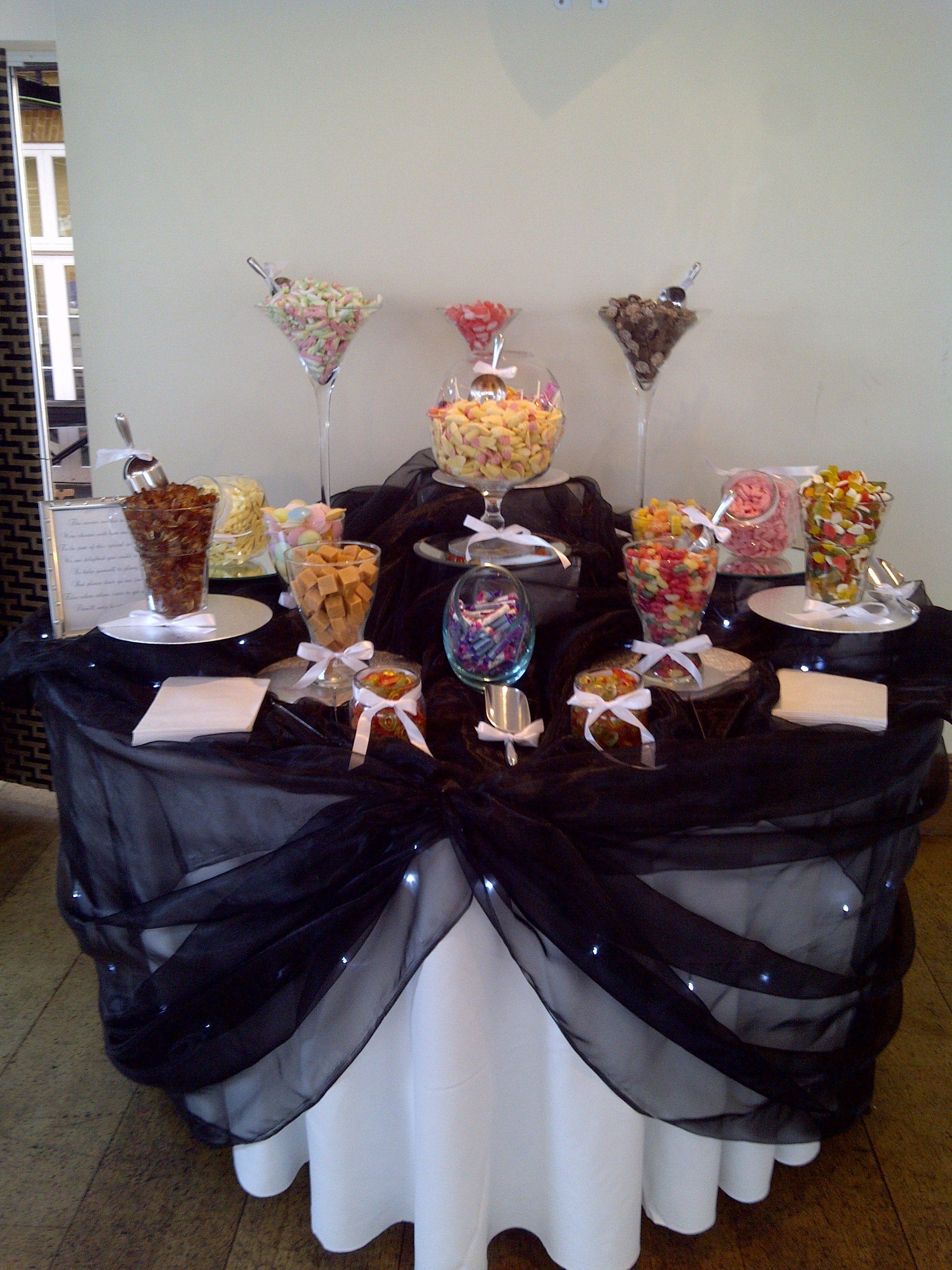 Sweetie Table at Orsett Hall