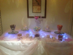 Sweetie Tables at Reids, Billericay