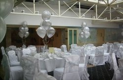 Wedding Decorations at Pontlands Park Hotel