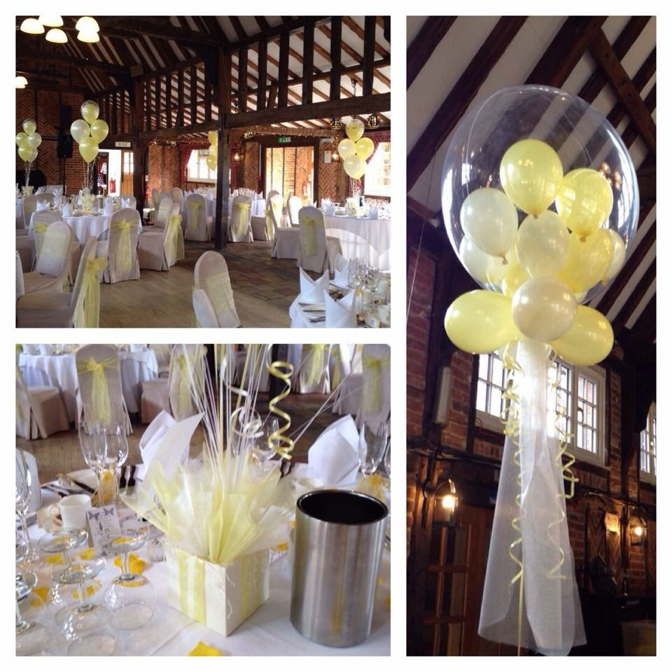 Wedding Decorations at Ye Olde Plough